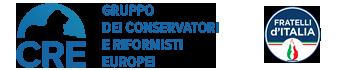 ECR-Fratelli d'Italia in Europa Logo