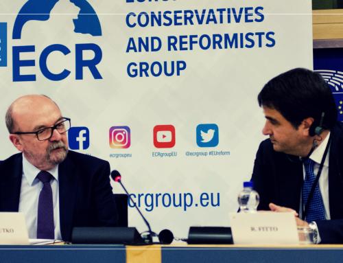 Fitto-Legutko: ECR e' la vera dimora dei valori conservatori