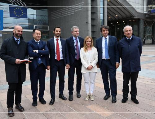 Ue: Meloni, gruppo Ecr si allarga, entra deputato Milazzo da FI